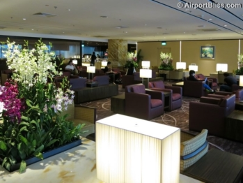 Singapore Airlines First Class Lounge – SIN T2