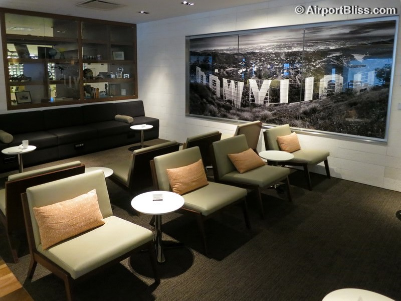 Star Alliance Business Class Lounge LAX Los Angeles CA