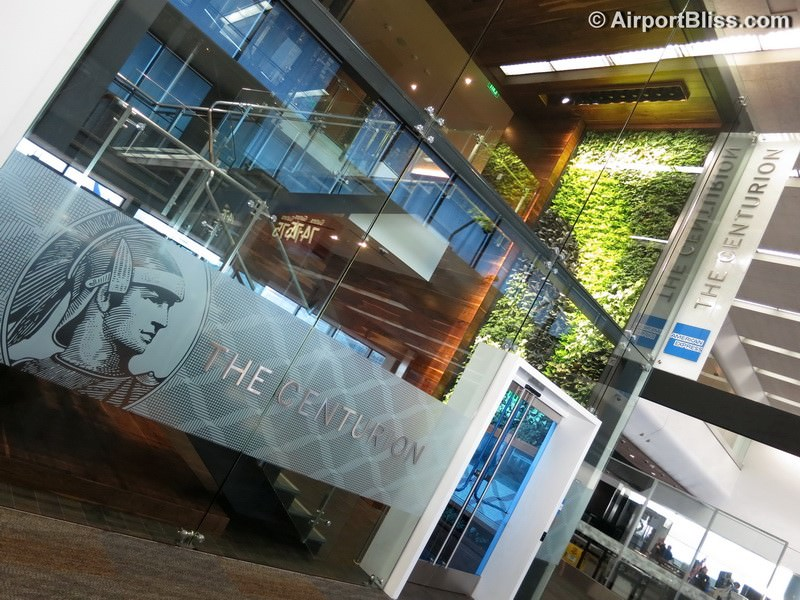 Lounge Review American Express The Centurion Lounge Sfo