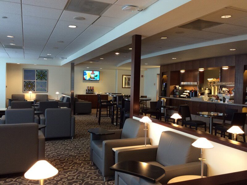 Lounge Review American Airlines Admirals Club At