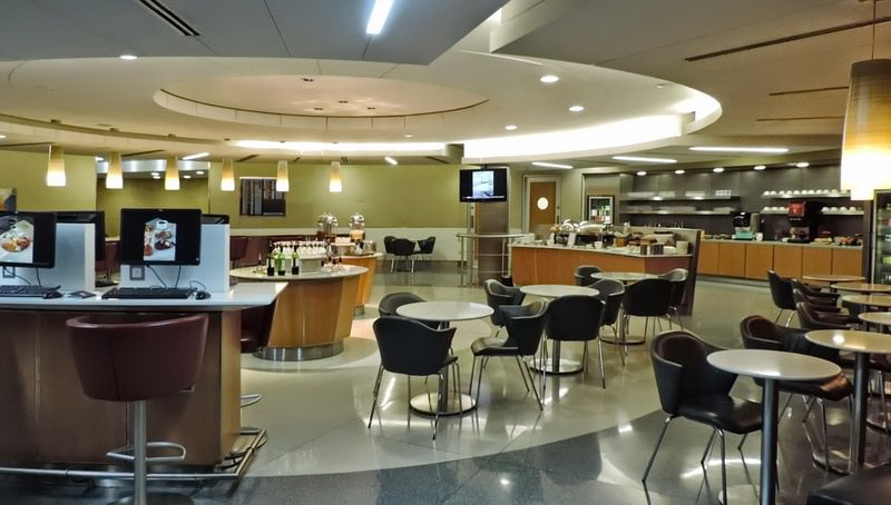 Lounge Review American Airlines Admirals Club Lhr