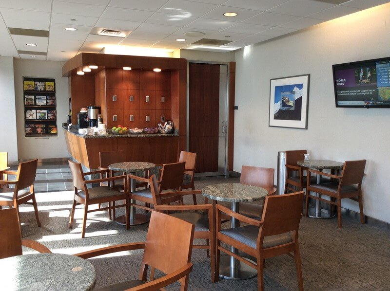 Lounge Review American Airlines Admirals Club Phl B C