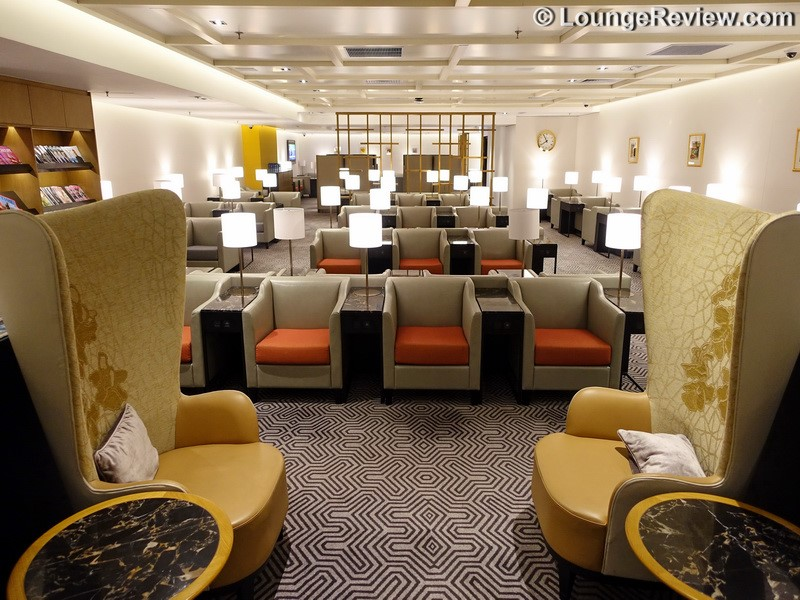 Singapore Airlines Silverkris Lounge At Hong Kong Airport To Reopen On October 31st