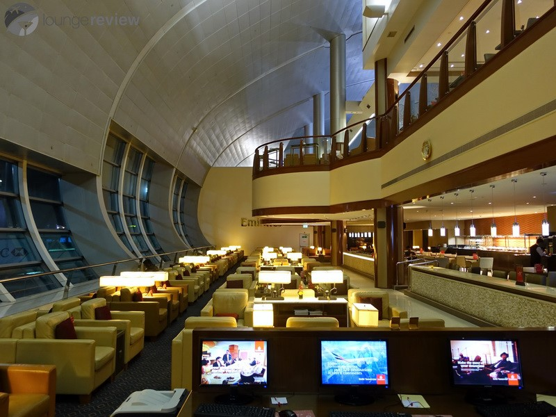 Lounge Review: Emirates Business Class Lounge at Dubai ...