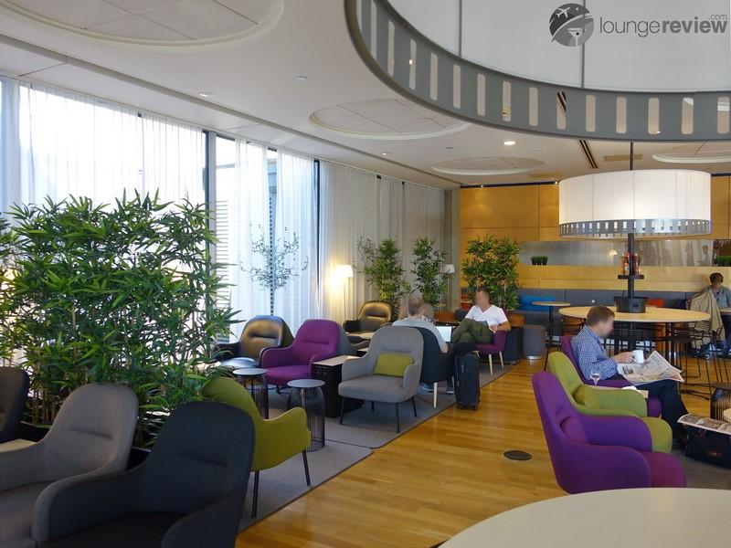 Lounge Review Sas Lounge Ewr Loungereview Com
