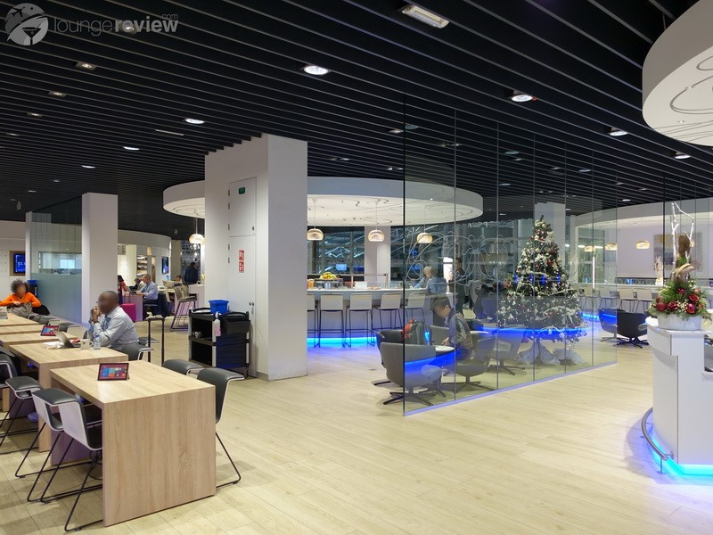 Lounge Review: Brussels Airlines The Loft at Brussels National (BRU ...