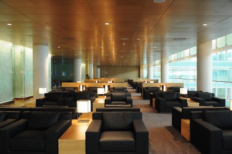 Sala VIP Miro (AENA Miro Lounge) - Barcelona - El Prat (BCN)  LoungeReview.com