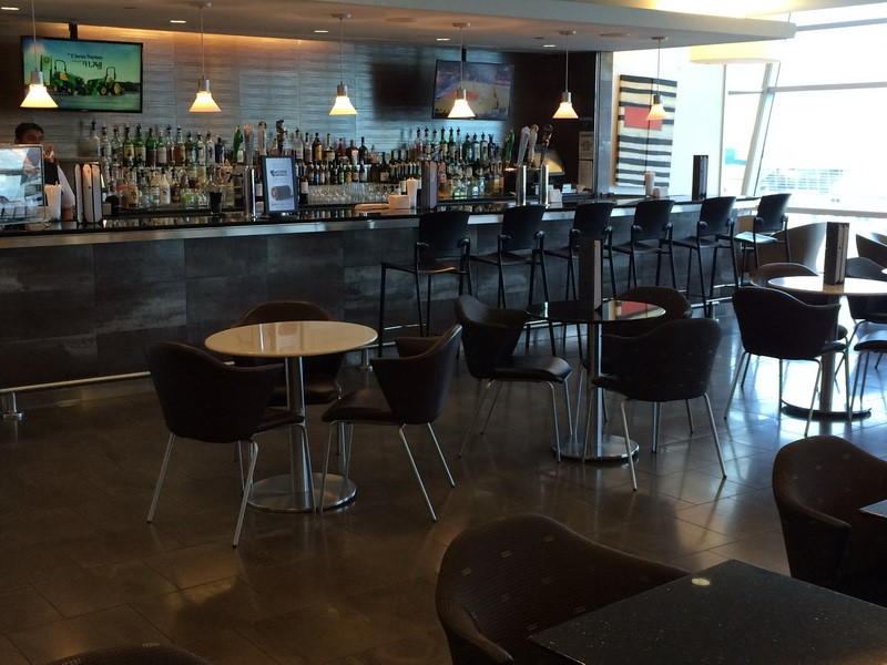 Lounge Review American Airlines Admirals Club Jfk B