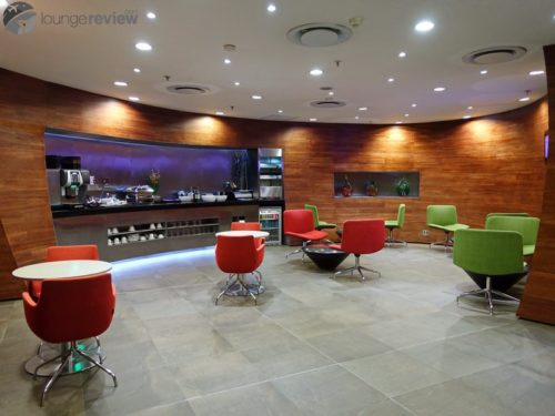South African Airways Arrivals Lounge - Johannesburg (JNB)