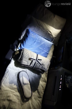 United Polaris bedding and slippers